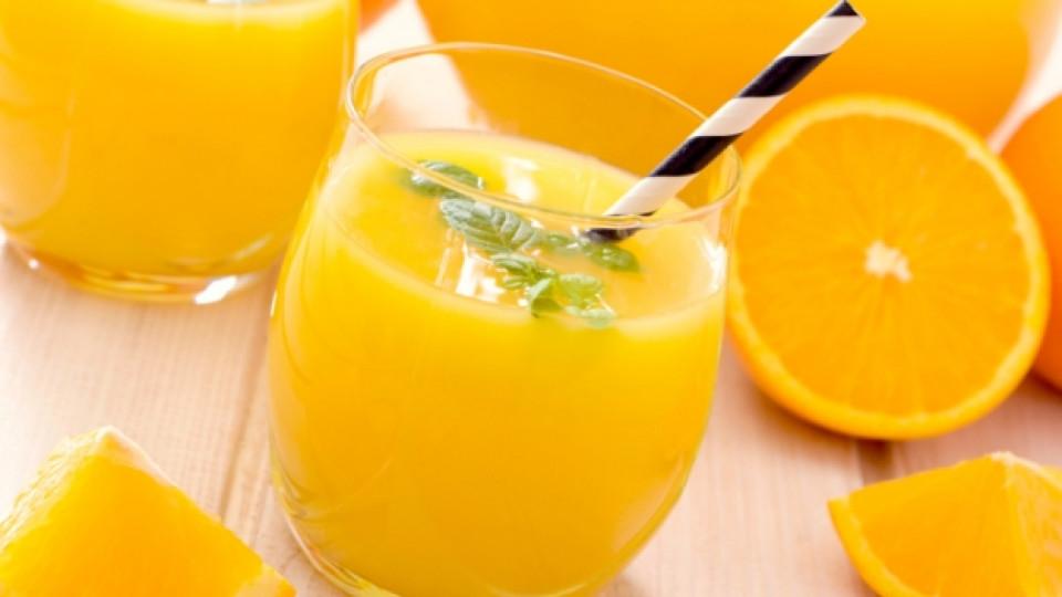 По-добре портокалов сок, отколкото кафе
