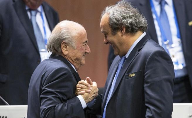 Сеп Блатер и Мишел Платини са отстранени временно от ФИФА