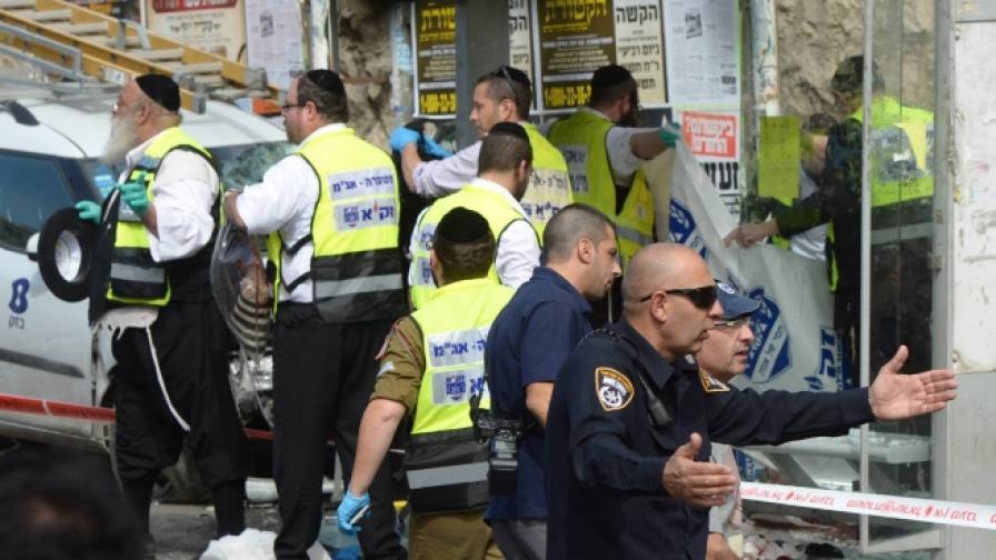 Вълната нападения над евреи в Израел