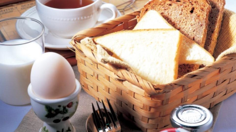 Най-здравословната закуска е с яйца