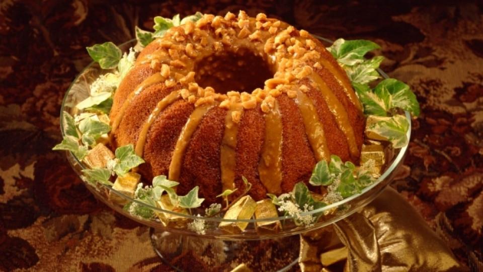 Есента ухае на кекс с орехи