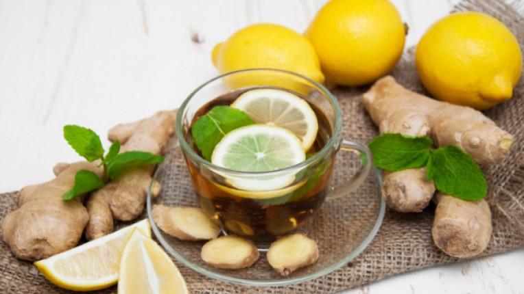 Мента лимон краставица и джинджифил