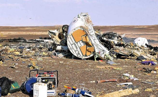 На запис от черната кутия на руския самолет се чувала експлозия