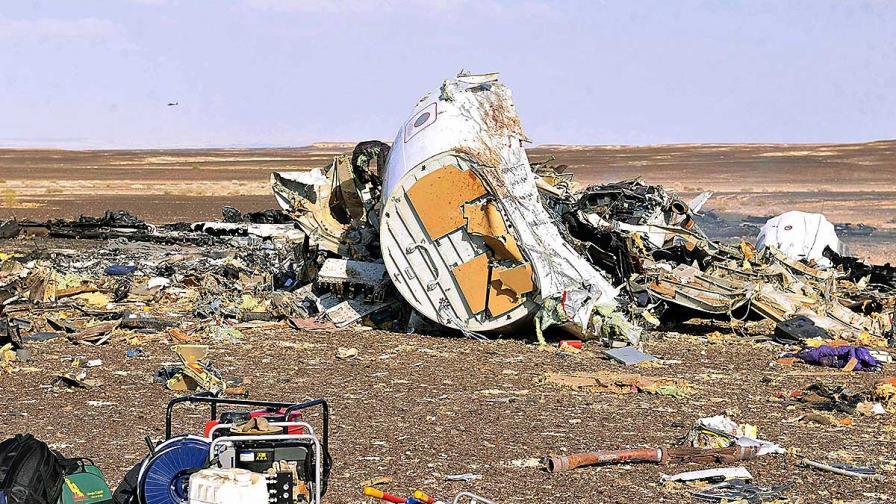 От отломките на руския самолет са извадени 175 тела