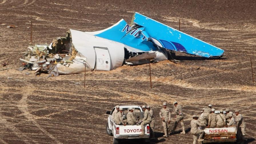 Знае се кой е сложил бомбата в руския самолет