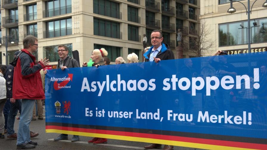 Протестът в Берлин