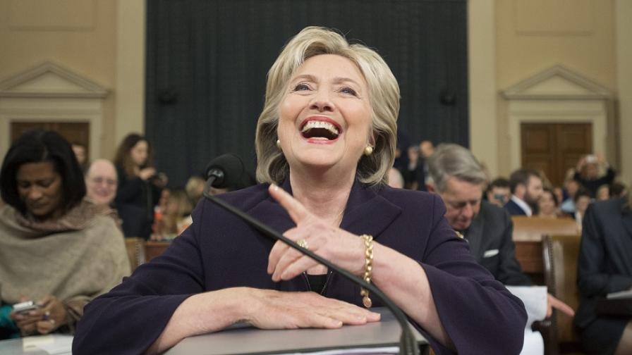 Петте изумителни лъжи на Хилари Клинтън за Сирия
