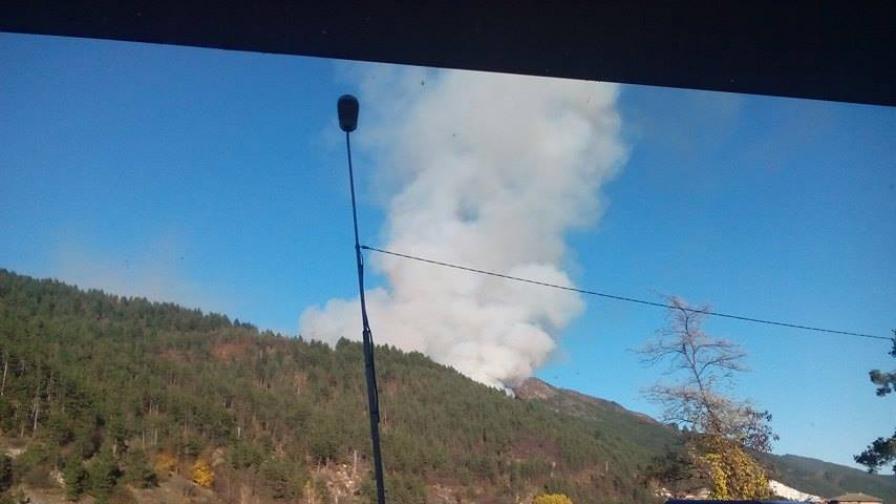 Пожарът избухна в четвъртък
