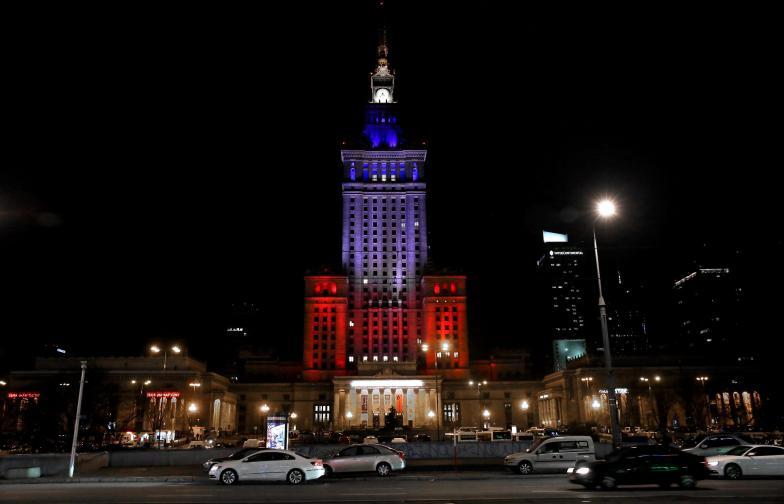 Дворецът на културата и науките във Варшава Полша