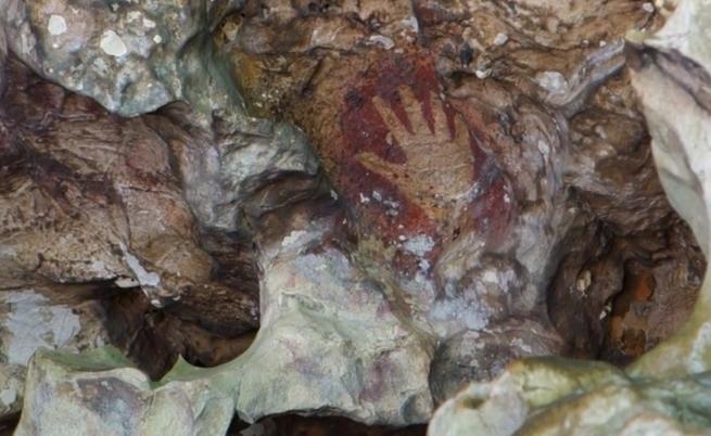 Праисторическа живопис в карстови пещери (видео)