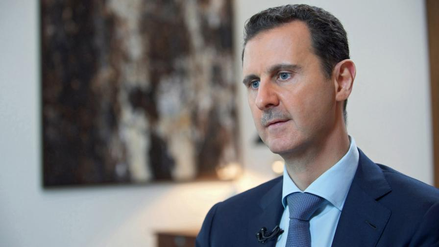 Асад обвини Франция в подкрепа на тероризма