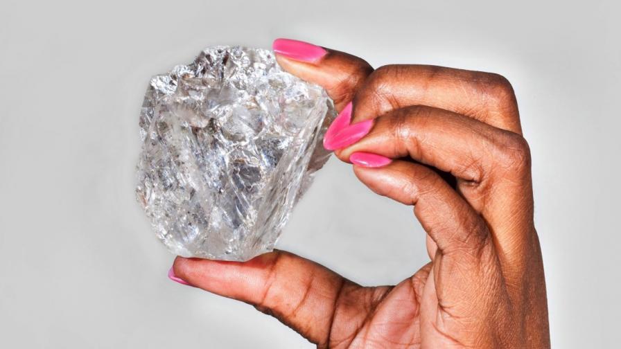 Един наистина голям диамант
