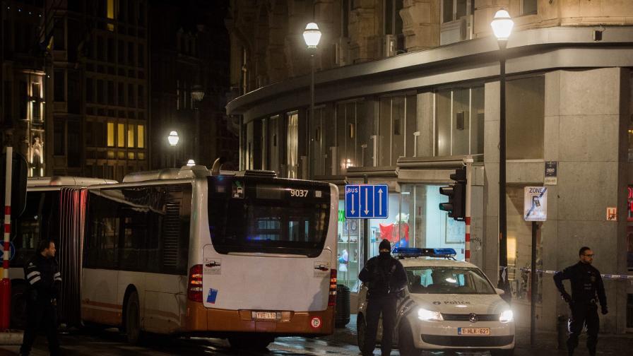 """Помолиха за """"пълно мълчание"""" около спецоперацията в Брюксел"""