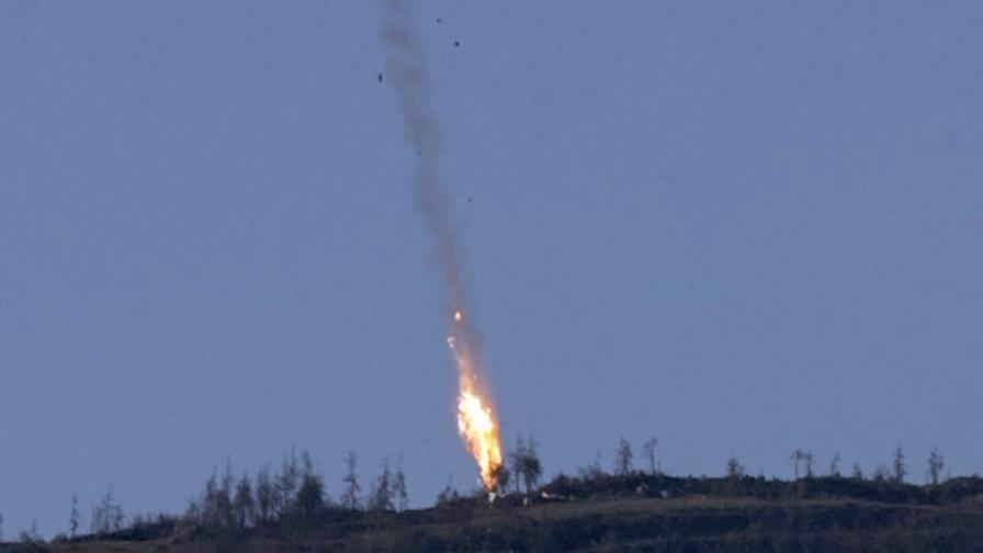Отвориха черната кутия на сваления руски Су-24