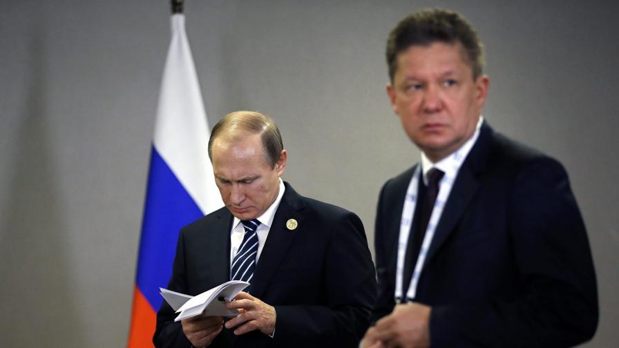 Милер: Русия не смята да прави газопровод към България