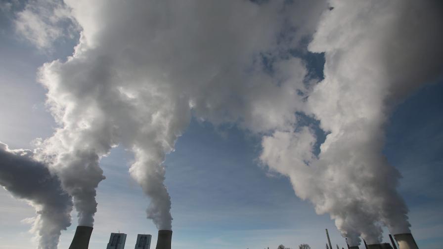 Усъвършенстван фотоапарат снима парникови газове