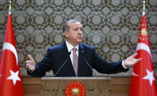 Ердоган: Турция е готова да построи самолетоносачи
