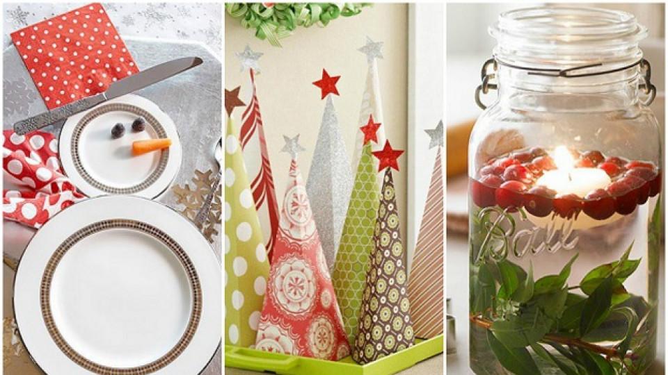 Коледни украси, за които не сте се сетили