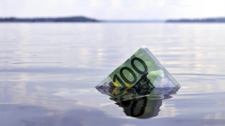 Ето как идва краят на парите в брой