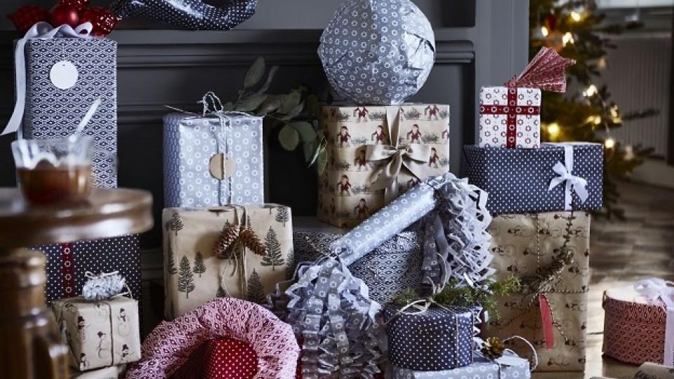 Нови 4 начина за опаковане на подаръци