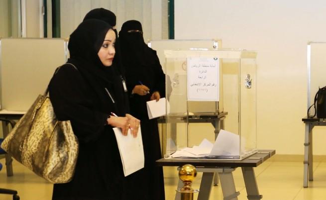Двайсет жени печелят на изборите в Саудитска Арабия