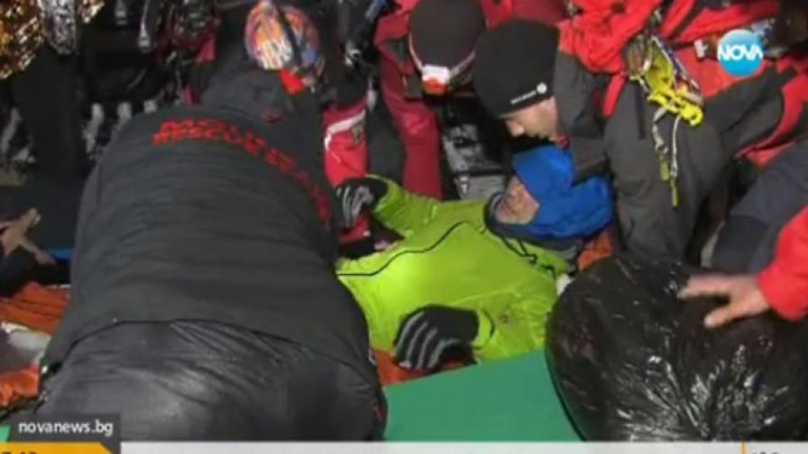 Ранените туристи в Пирин са спасени