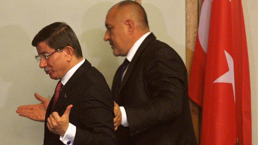 Борисов е говорил с Давутоглу за раздора за ДПС