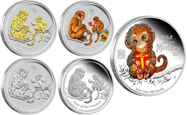 Монети с маймуни