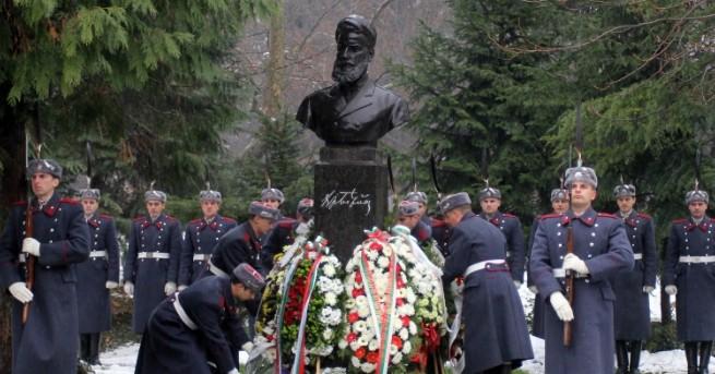 България Почитаме паметта на Ботев и загиналите за свободата на