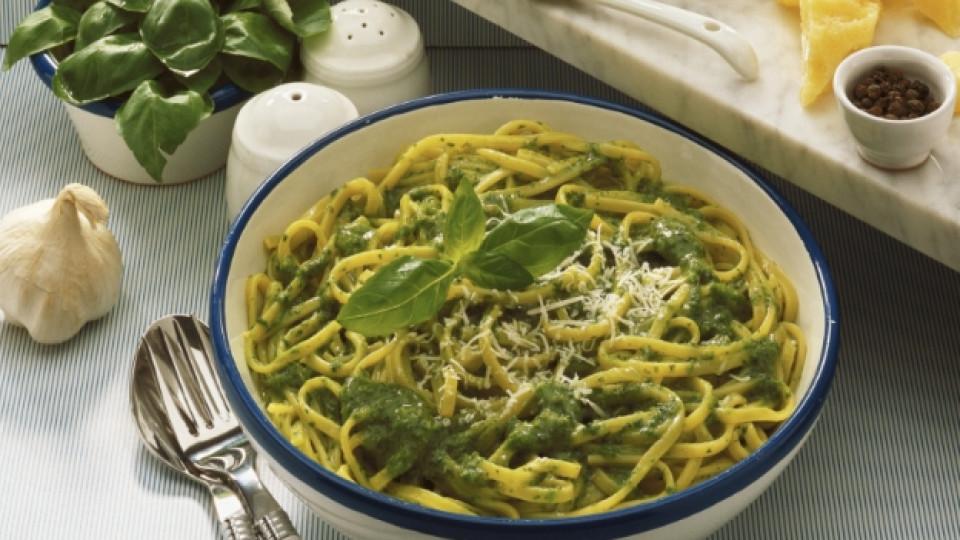 Порция бързи и апетитни спагети