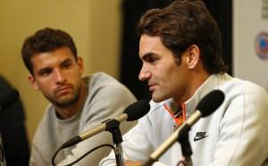 Кой е скритият коз на Димитров преди финала, разкрива Роджър Федерер