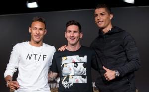 Роналдо, Меси и Неймар са кандидатите за приза The Best на ФИФА