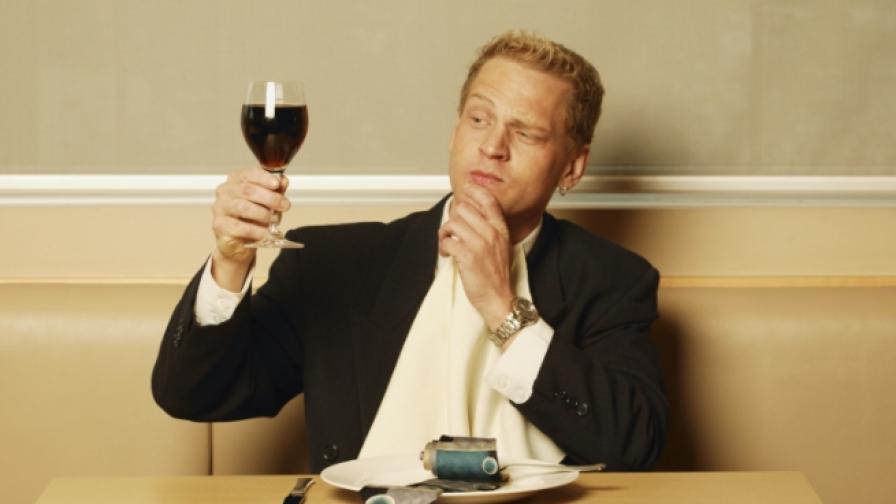 Червеното вино и касисът са суперхрани за мъжете