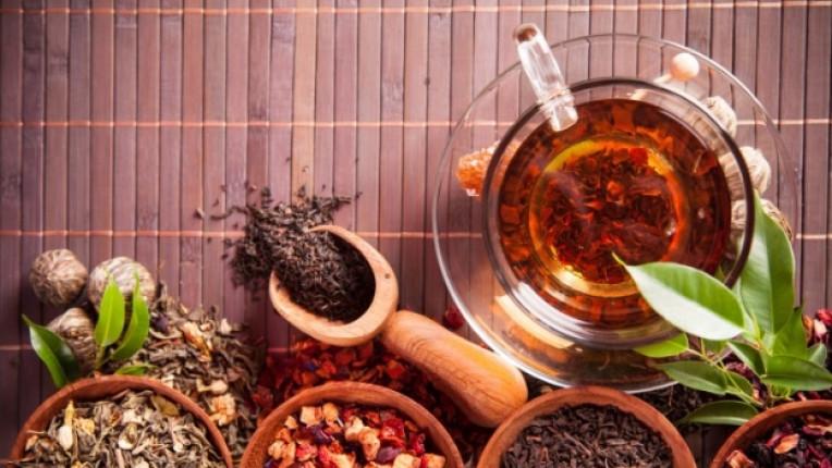 чай подправки билки отвара