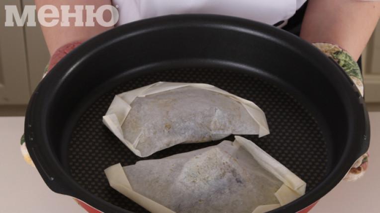 техника печене в хартия