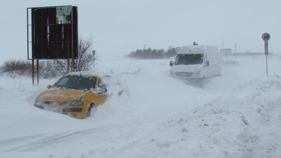 България в капана на снега (обобщение)