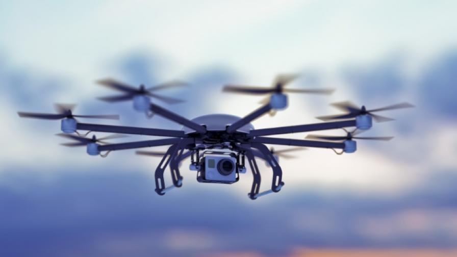 Мрежа от дронове може да помага при бедствия и аварии