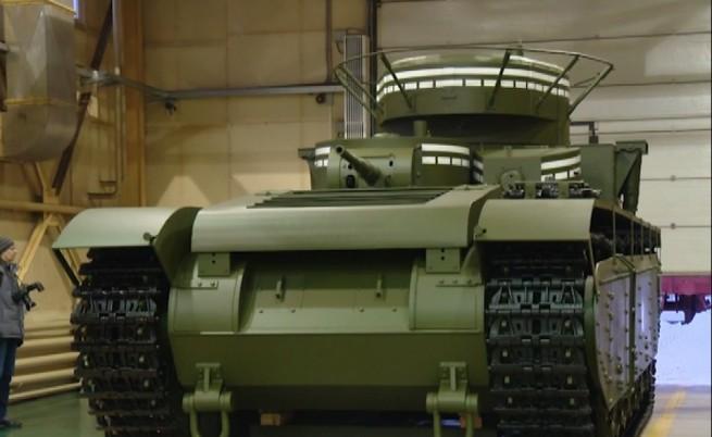 Вижте най-лошия руски танк в историята