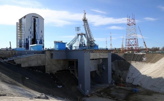 Дрон засне новия Космодрум в Русия