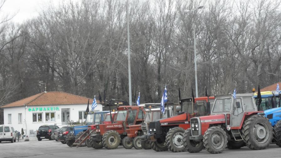 Протестиращи гръцки фермери блокираха ГКПП Кулата – Промахон
