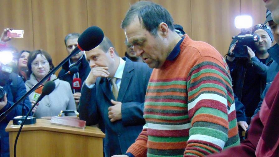 Иван Евстатиев в съда