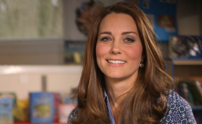 Кейт Мидълтън с първа самостоятелна телевизионна изява като член на кралското семейство