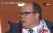 ВИДЕО: Принц Албер гледа Монако – Бастия