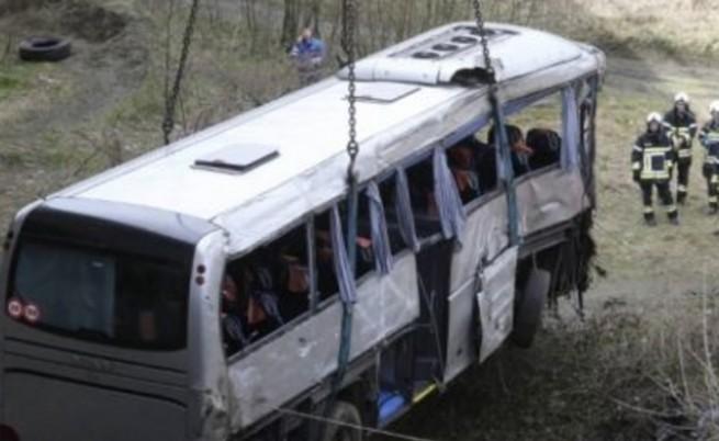 Шофьорът разказва за катастрофата в Македония