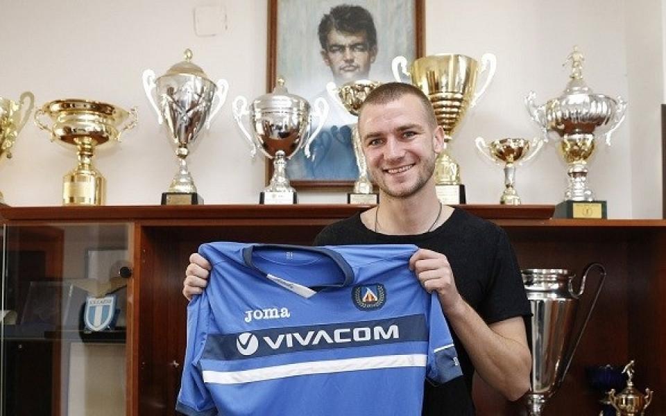 Венци Христов вече е играч на Левски