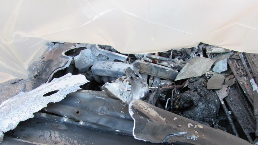 Палеж на колата на директора на Бургаския затвор