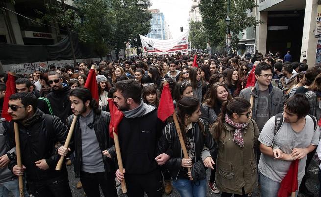 48-часова стачка започна в Гърция