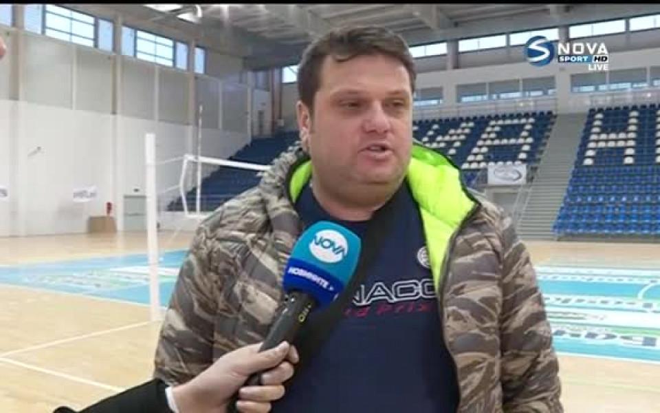 Мартин Стоев: Едва ли ще се намери селекционер за един месец