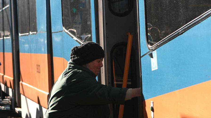 """Трамваи с нов маршрут заради ремонт на """"Графа"""""""