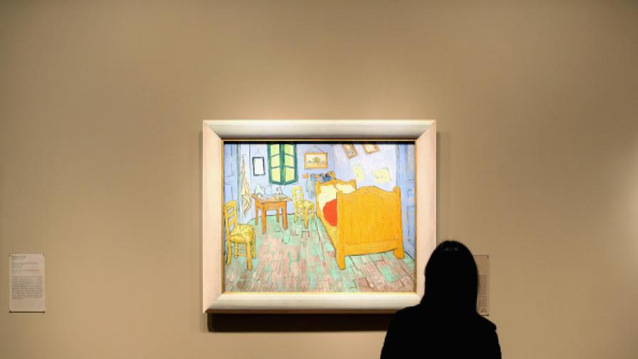 """Спиш в """"Спалнята"""" на Ван Гог за 10 долара на нощ"""
